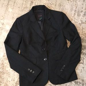 The Limited Black Double Button Blazer Size 4